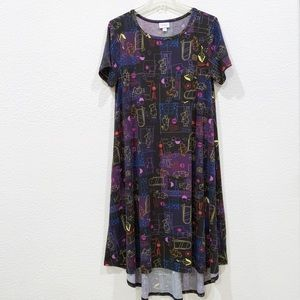 Lularoe Carly Disney Winnie the Pooh Neon Dress